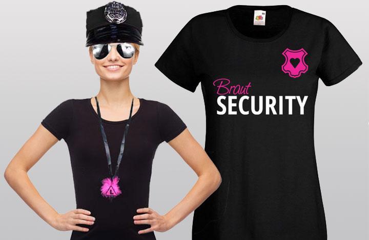 Braut Security Kostüme für den Junggesellinnenabschied