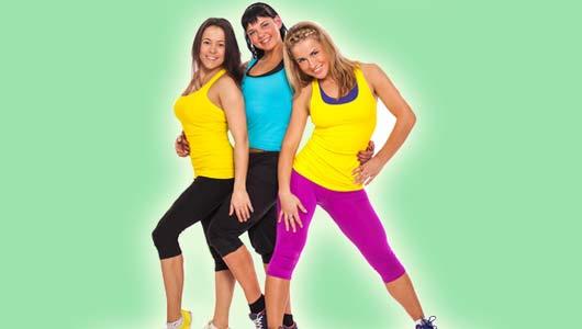 Frauen in Sportkleidung