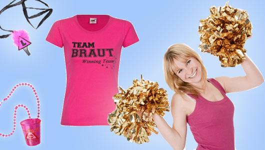 Team Braut-Zubehör